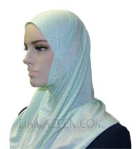 1PC Dotted Head Cover Hijab #144