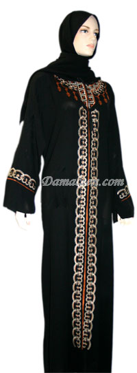 Summer Lantern Abaya with Shawl
