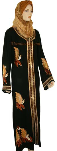 Blazing Leaves Abaya