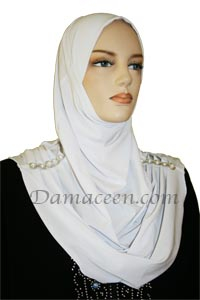 1PC Cadet Lycra Head Cover Hijab
