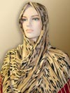 Lycra Shawl Tiger Design # 493