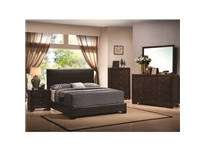 Coaster - NF300261KW - Coaster California King Upholstered Bed with Low Profile