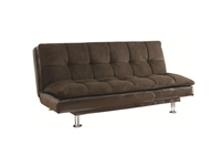 Coaster - NF300313 - Coaster Sofa Beds and Futons Millie Sofa Bed with Chrome Legs and Casual Style