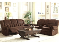 Home Eleglance -Double Reclining Sofa