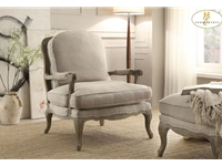 Home Eleglance - Accent Chair, Show Wood