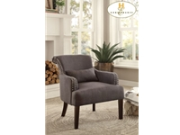 Home Eleglance - Accent Chair with 1 Kidney Pillow