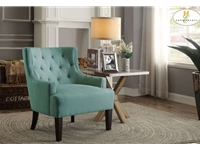 Home Eleglance - Accent Chair, Teal