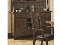Coaster - NF105704B - Coaster Padima Rustic Rough-Sawn Buffet with Wine Storage
