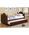 Poundex Twin Bed w/ Trundle F9056 by New Furniture 4 Less