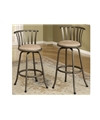 Poundex Swivel Barstool F1431 by New Furniture 4 Less