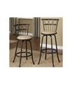 Poundex Swivel Barstool F1433 by New Furniture 4 Less