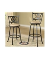 Poundex Swivel Barstool F1434 by New Furniture 4 Less