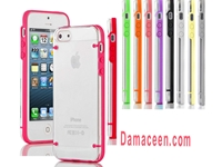 Transparent luminous TPU Plastic Case for iPhone 5/5S