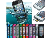 Waterproof Shockproof LIfeProof Dirt Dust Proof Hard Cover Case Apple iPhone5/5S