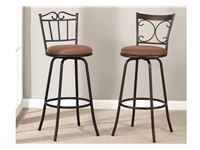 Poundex - F1481 - Swivel Bar Stool