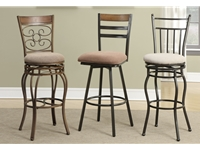 Poundex - F1435 - Swivel Barstool