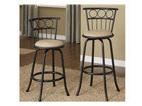 Poundex - F1433 -Swivel Barstool