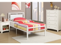 Poundex - F9414T - Twin Bed