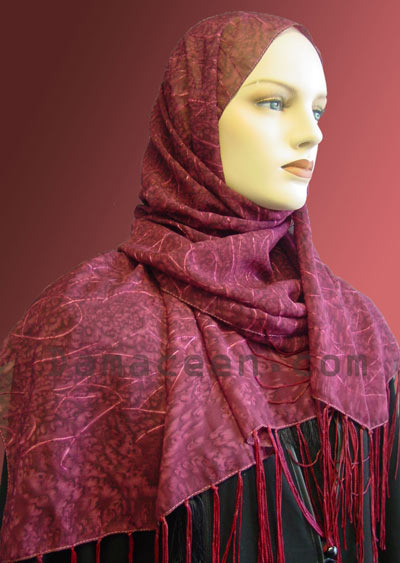 Embroidered Shawl # 626