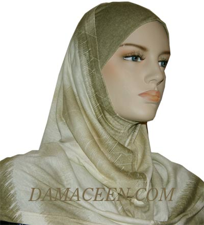 2PC Colorful Hijab Head Cover 3