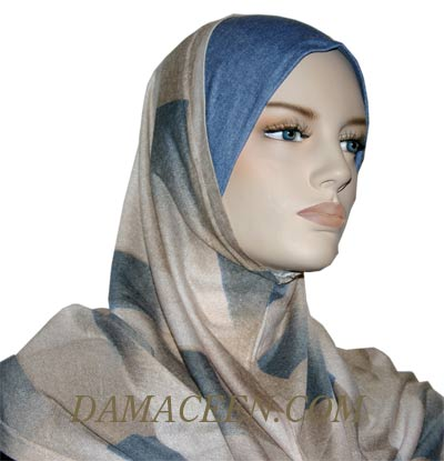 2PC Colorful Hijab Cover