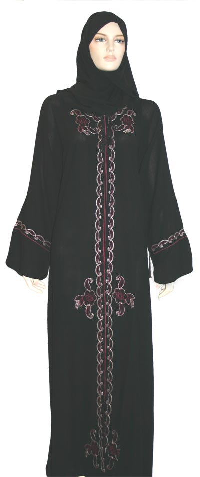 Abaya is a traditional dress.