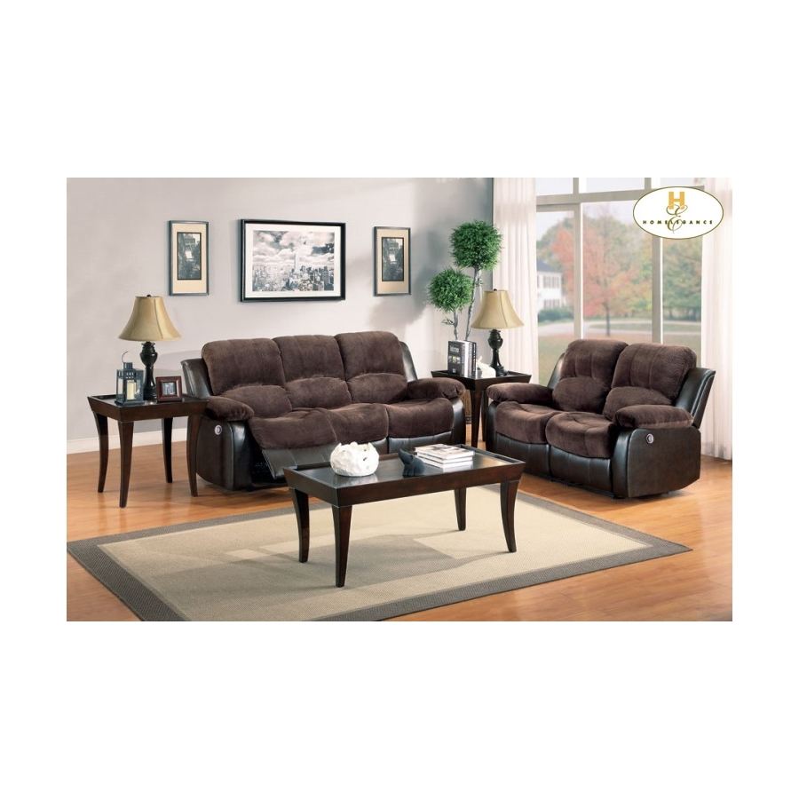 Home Eleglance- Power Double Reclining Sofa