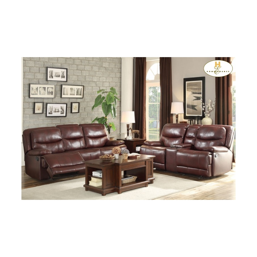 Home Eleglance- Double Reclining Sofa