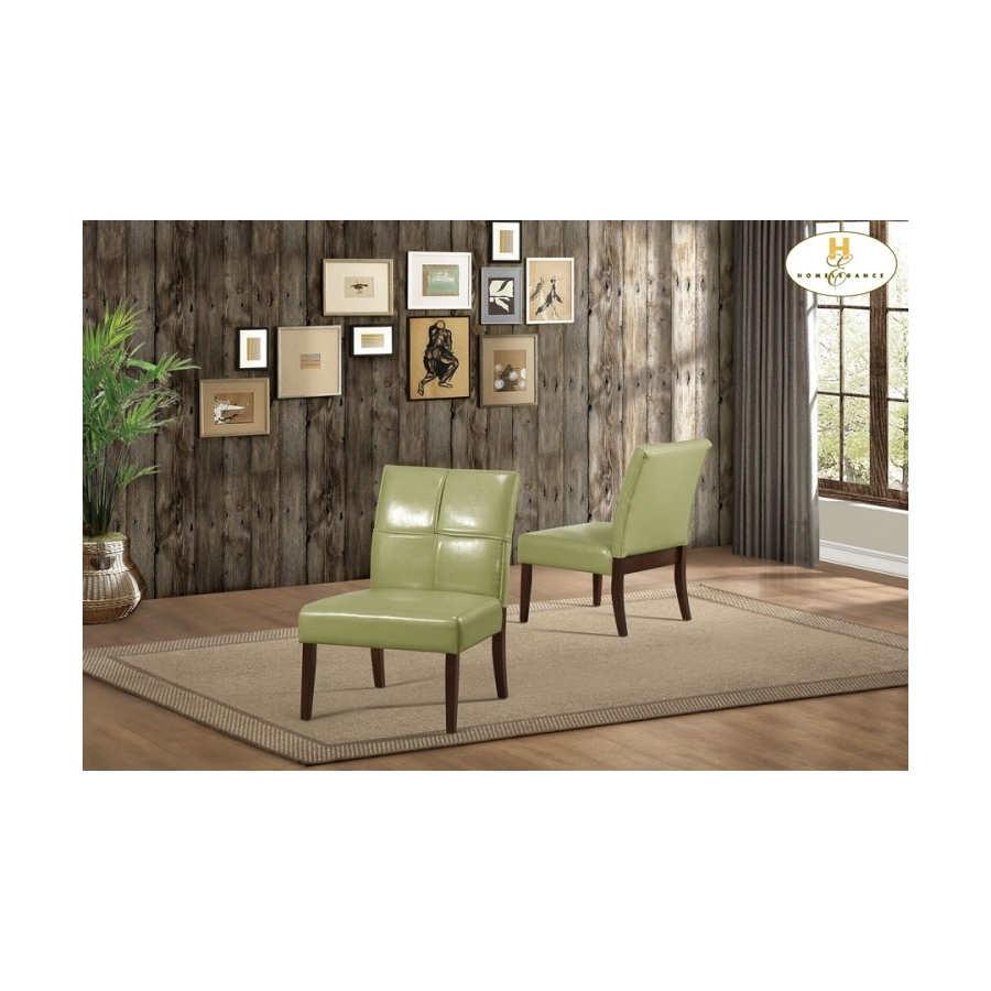Home Eleglance - Accent Chair, Green