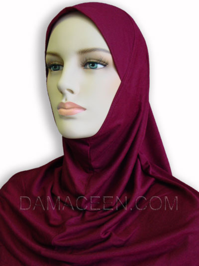 1PC Cotton Head Cover Hijab #125