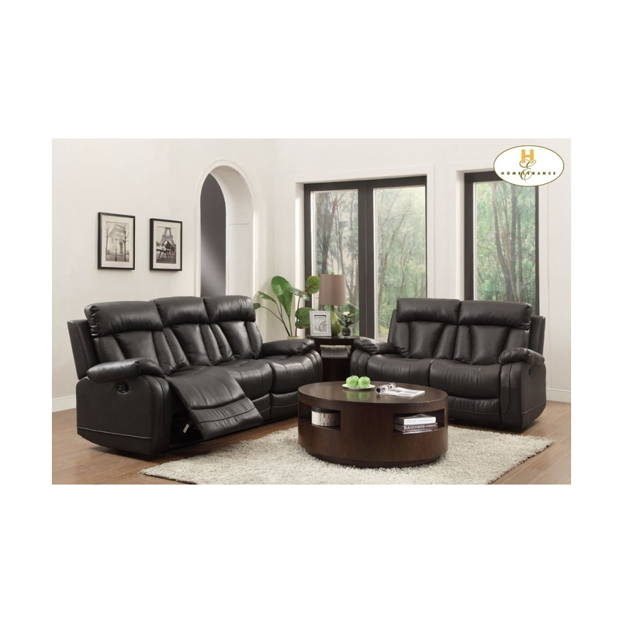 Home Eleglance - Double Reclining Sofa