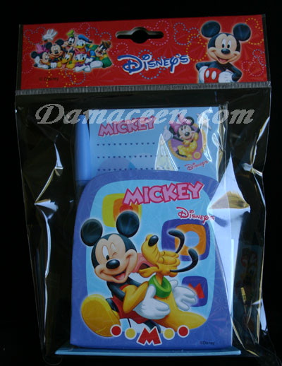 DISNEY Mickey and Friends Pen and Notebook Set