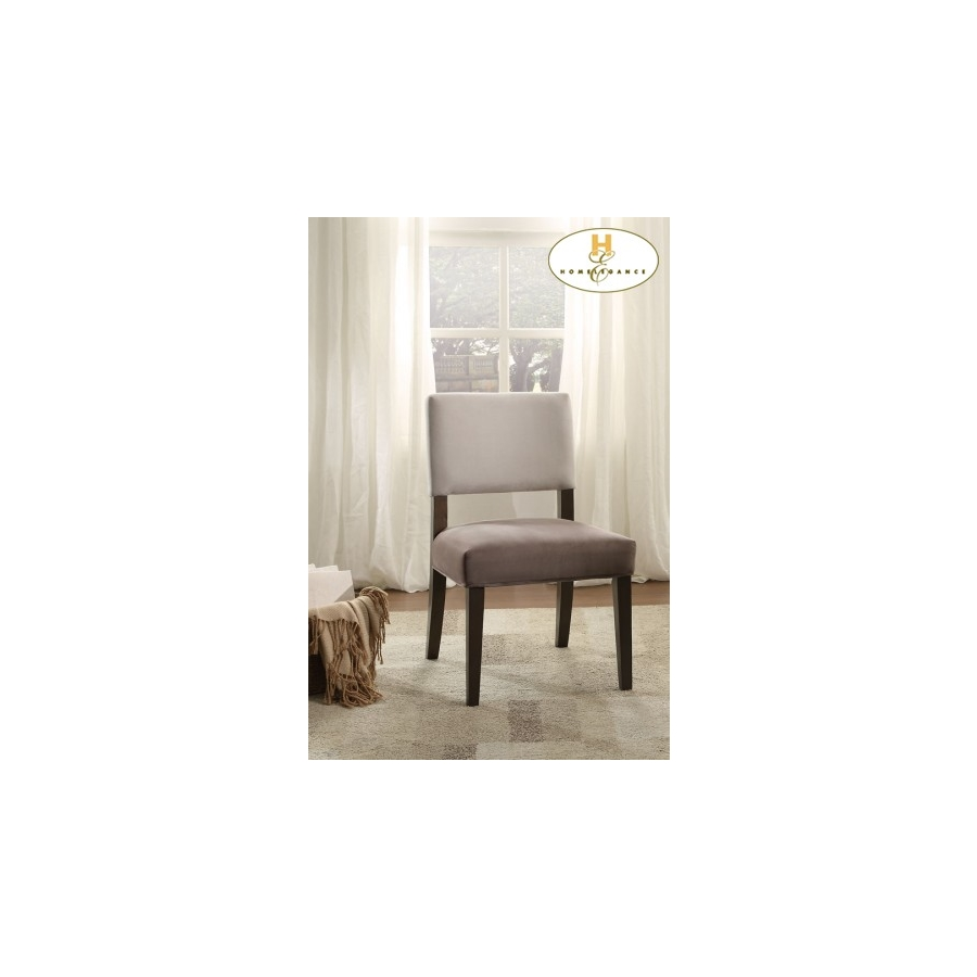 Home Eleglance -Accent Chair, Two-Tone
