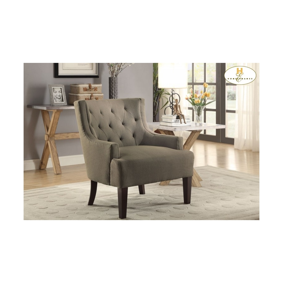 Home Eleglance - Accent Chair, Grey