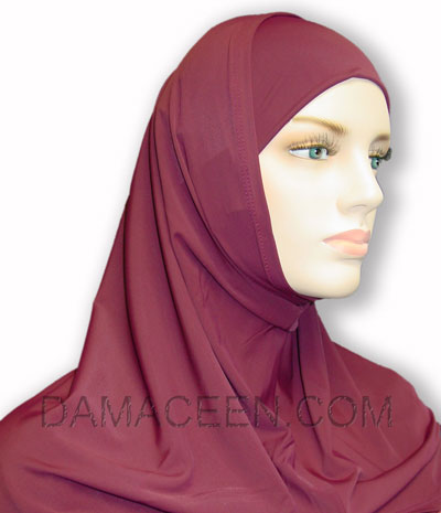 2PC Women Jersey Head Cover Hijab # 174