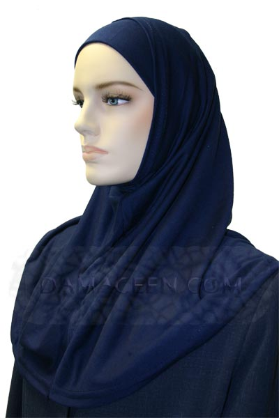 2PC Women Cotton Head Cover Hijab # 70