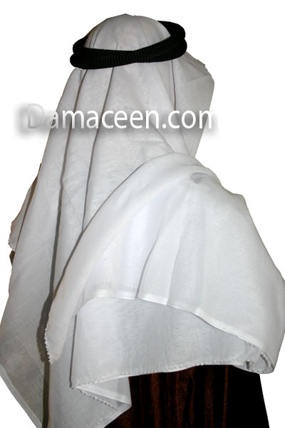 Arabian Men Scarves White # 161
