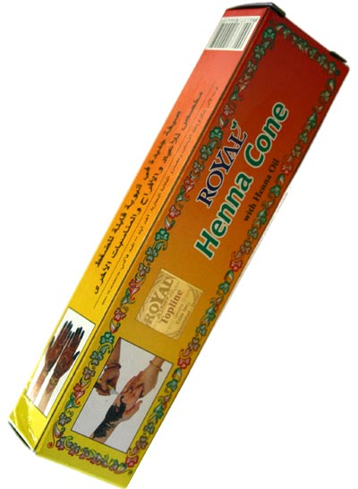 Royal Henna paste Tube