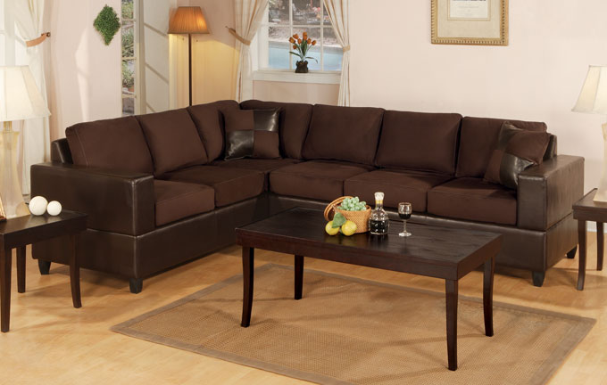 3-PCS Sectional Sofa #F7631