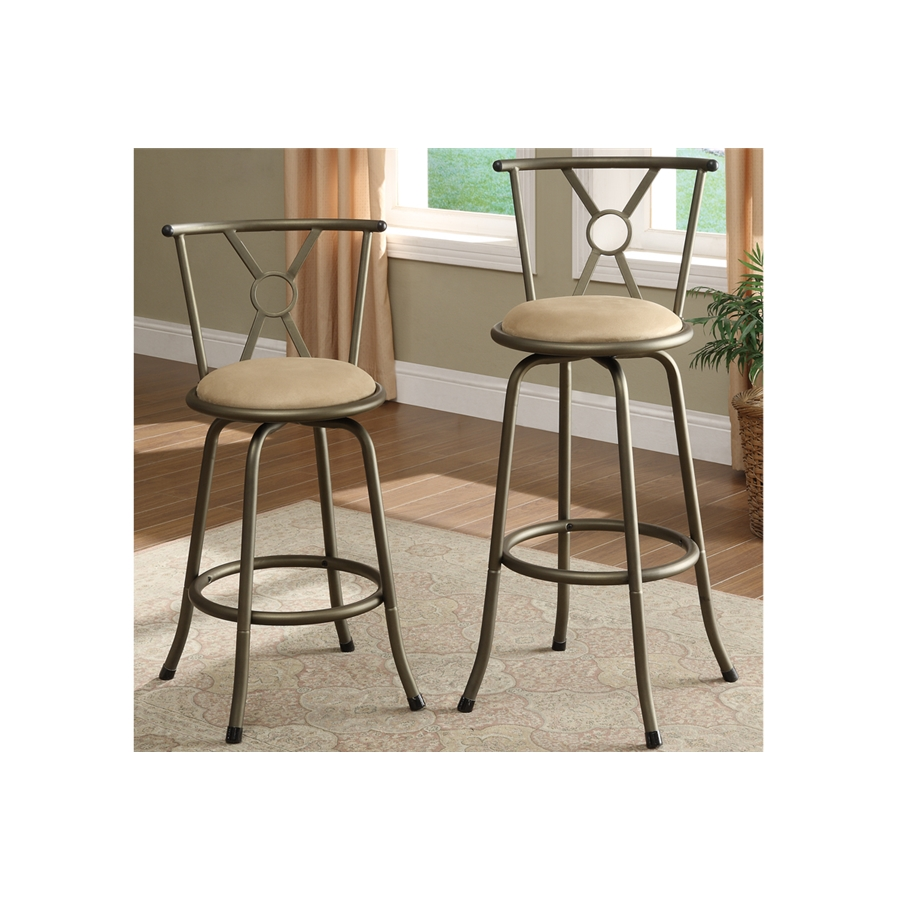 Poundex - F1432 -Swivel Barstool