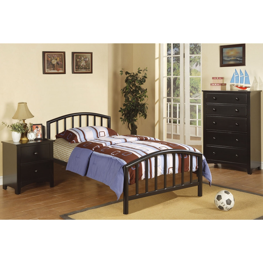Poundex - F9018T  - Twin Bed
