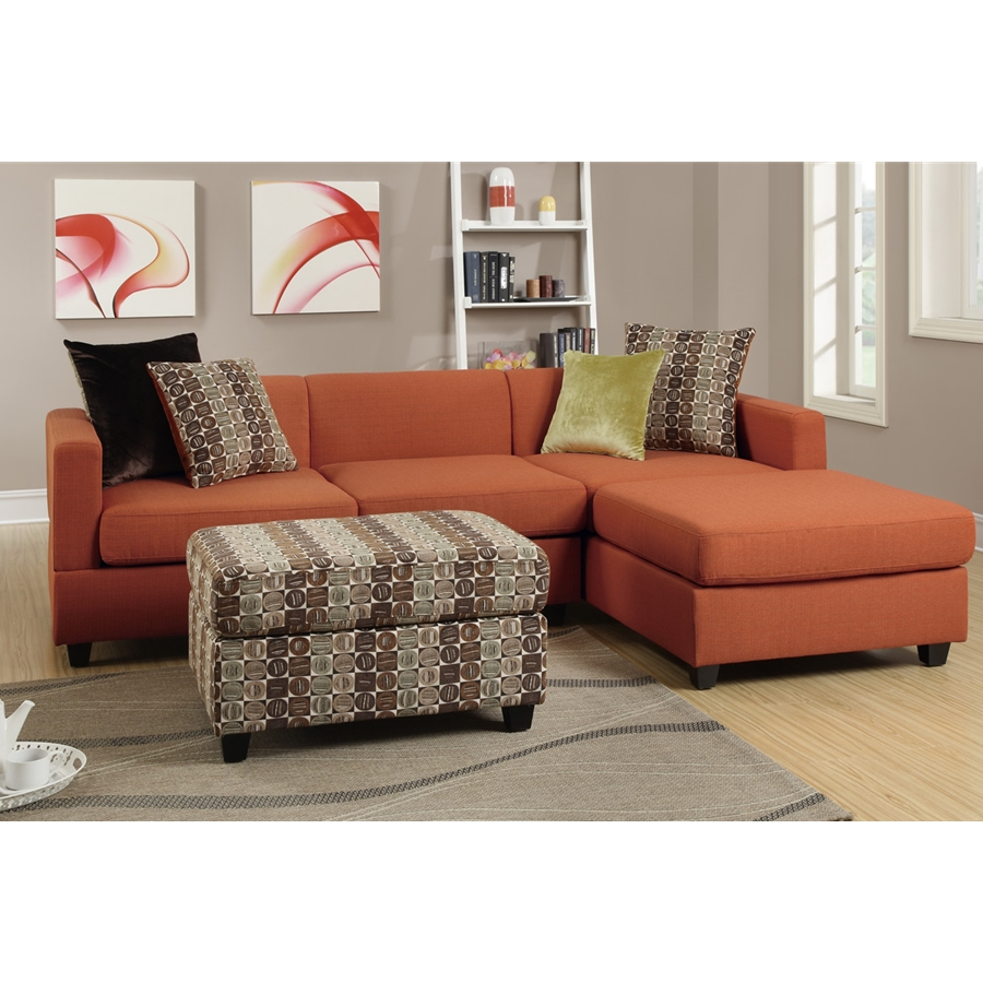 Poundex - F7170 - 2-Pcs Sectional Set