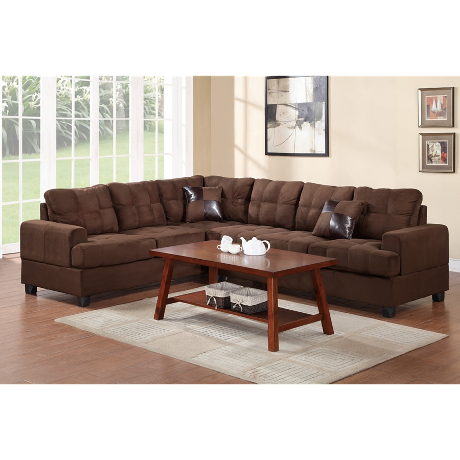 Poundex - F7627- 2-Pcs Sectional Set