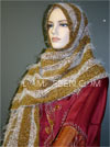 Wool Mohair Shawl #693